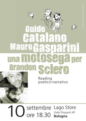 Una Motosega per Brandon Sclero, di e con Mauro Gasparini e Guido Catalano